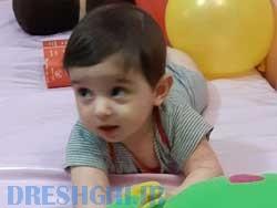 ارتین حسین خانی  شیرخوار ۶ ماه  معروف به بچه پلنگ