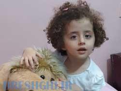 بارانا علی یاریان ۳ ساله با مزه